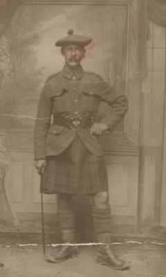 William Stairmand, Private 292019 The Black Watch (8th Battalion)