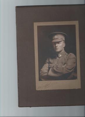 Sidney Bertram Hodgson, 39813, 3rd Battalion, Wellington Regiment NZEF