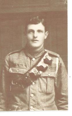FRANK BODY, Royal Field Artillery Gunner 216220