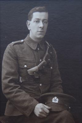 George Albert Sykes, Private - 1/5th Bn. The Royal Leicestershire Regiment