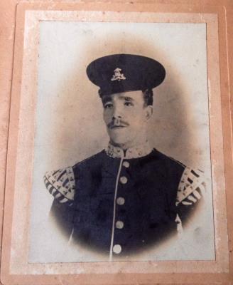 Thomas Edward Lloyd, Drummer , Lancashire fusiliers