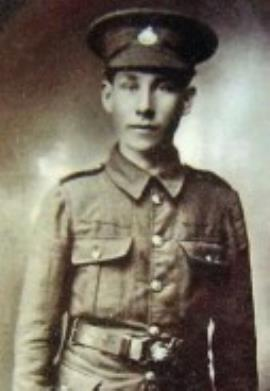 Harry Aylmore, Pvt 400947. 9th Btn Essex Regiment