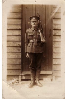 Tom Swinson, 42786 Private Swinson South Staffordshire Regt
