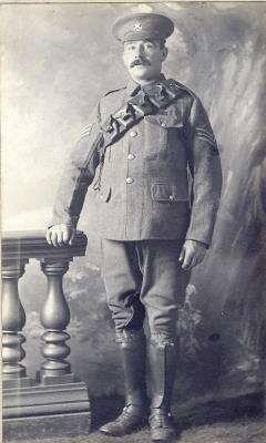 Samuel Needham Brocklehurst, North Staffordshire Regiment, 8 Bn/Sargeant