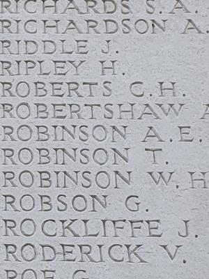 George Robson, Private  350646 Manchester Regiment