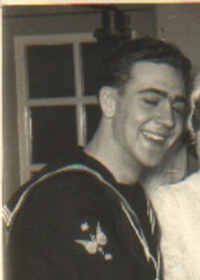 Trevor Mottershead, Leading Seaman Telegraphist Royal Navy