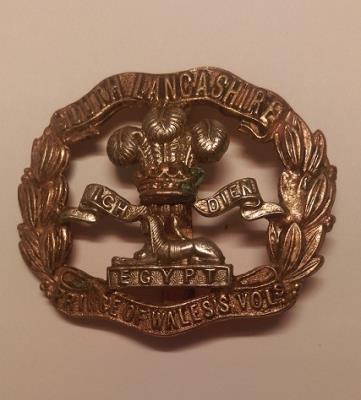 "Harry Forshaw, Private, No.31896, ""A"" Coy, 2Bn PoWV [South Lancs Regt]"