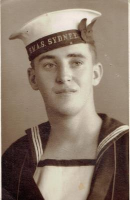 Alexander Doxey, Able Seaman Anti Aircraft Machine Gunner on HMAS Sydney II Died November 20 1941