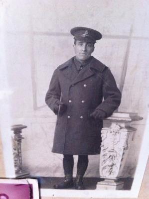 Arthur james Reed, Devon regiment, labour corp