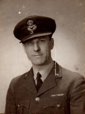Nelson Alfred Spencer, Flt/Lt Volunteer Reserves Royal Air Force