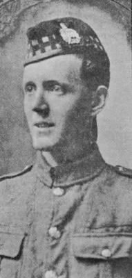 Thomas Dryden Thompson, Lance Sergeant 562 1/4 Kings Own Scottish Borderers