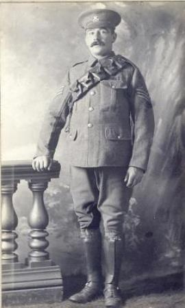 Samuel Needham Brockelhurst, Sgt 8th Battalion North Staffs
