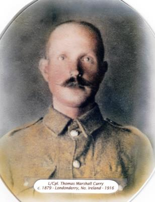 Thomas Curry,  Lance corporal