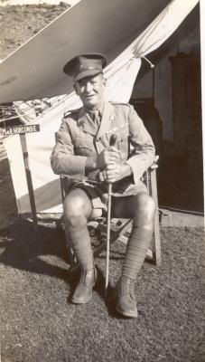 George Giles - Service No. 2316, WWI Private - Australia 3rd Light Horse Regt & Imperial Camel Corps; WWII Sgt 29 Employment Coy
