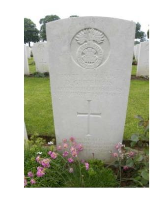 David Griffiths, Lance Corporal, 13977 Royal Welsh Fusiliers; 24/08/1918 age 24. KIA Battle of Albert, Flanders.