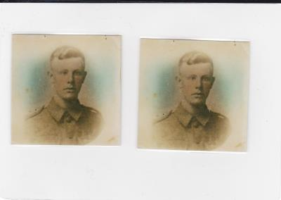 Edward William  Archer, Private Canadian Expeditionary Force