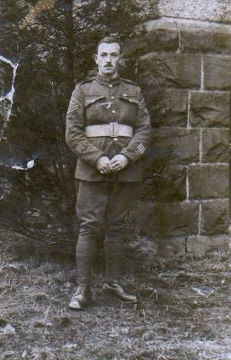 Charles Lindsay Gibson, Royal Scots/ Corporal.