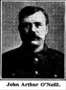 John Arthur O'Neill, Private, Leicestershire Regiment