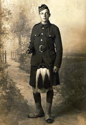 Walter James Cowie, Private