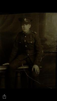 Henry Strachan, Private 3509  8th Battalion Durham Light Infantry