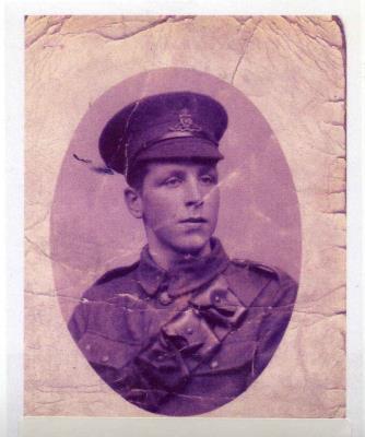 Edward Symonds, Royal Garrison Artillery - Acting Bombardier - First Siege Battery