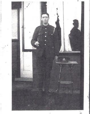 James Coussons (Cousins), L/Cpl 20th Batts. Manchester Regiment.