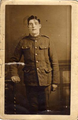 Alfred  Rush, Private. 11th Battlion Lancashire fusiliers. service no 26882