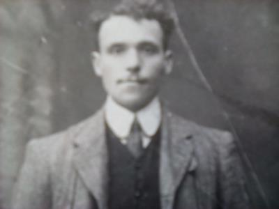 Peter  Shine , Corporal , Irish guards 2nd Battalion