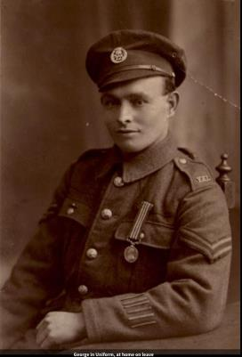George  Longden, 2nd Lieutenant