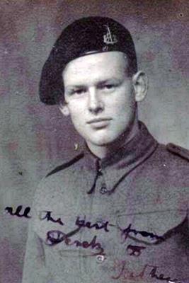 Derek Earle Hamilton-Peters, Royal Armoured Corps. Trooper