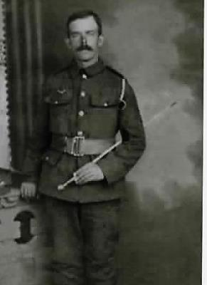 Joseph Browne, Private 6TH Battalan Connaught  Rangers WW1