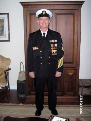 George Raymond Holloway, US Navy CPO
