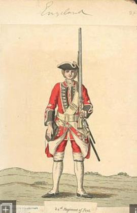John Horler, Private 24th Regiment of Foot
