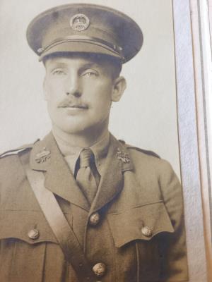 Thomas Pryce Hamer, Lt Adjutant South Wales Borderers
