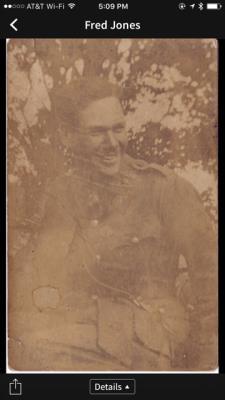 Frederic S.C. Jones, 2nd Lt. 86th Light Trench Mortar Batty , 1st Battn Lancashire Fusiliers ,kia Nov 30 1916