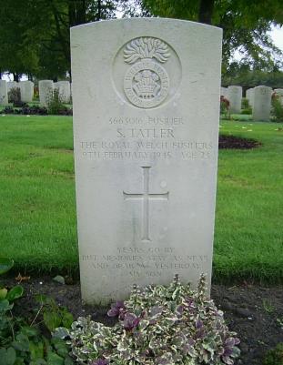 Samuel Tatler, Royal Welch Fusiliers