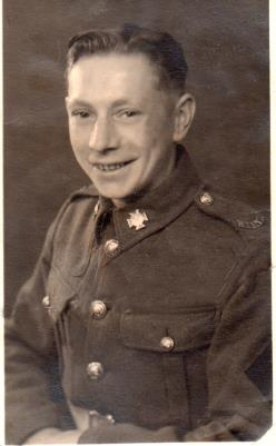 Ernest Payne, Private, 5TH Wilts and 43rd Wessex Division THE WESSEX WYVERNS