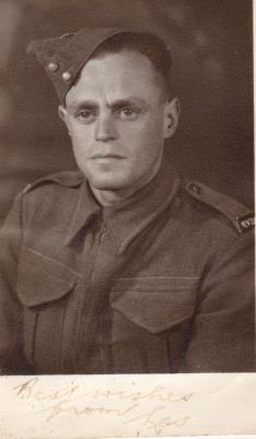 Leslie Joseph Gurney,  2 NZEF 24th Battalion, NZ Army C Coy Div Sigs