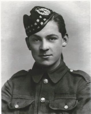 William Wright, L/Cpl S/14807 2nd Battalion Gordon Highlanders