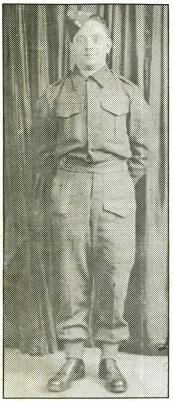 Charles Dean  Thomas, Private, 2nd Bn., Hampshire Regiment.