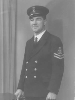 Wilfred Reginald Butler, Royal Navy, Chief Petty Officer