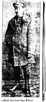 Leonard Garrison, Sergeant 7th Service Battalion York and Lancaster Regiment. Awarded Victory and British Medals