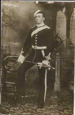 John Gray, Royal field artillery