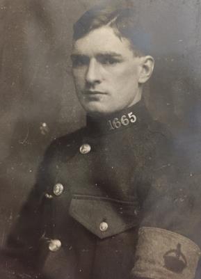 Thomas Wignall, Gunner in the Royal Garrison Artillery
