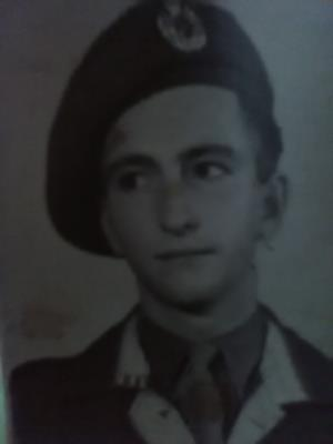 Fred Barraclough, Army number -14935973 served as a royal engineer in Egypt.enlisted on 15.2.45