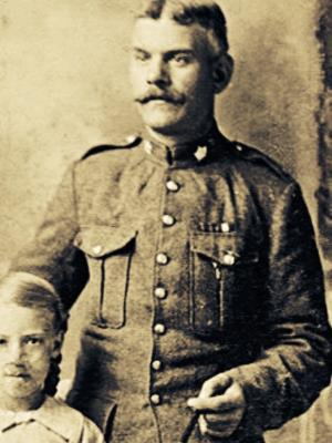 Henry  Heighway, Private Canadian Infantry. WW1