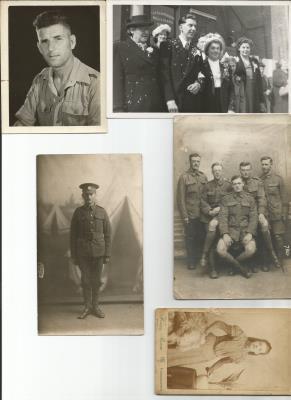 Peter Edward (Dick) Parrott, Rifleman S/10536