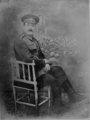 Robert Furlonger, Private 610674 / 19th Bn., London Regiment