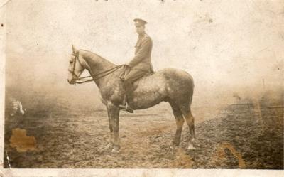 Edward Ernest DOBSON, D.L.I. 9th Battalion WW1. Sergeant. Northumberland Hussars WW2. Sergeant.
