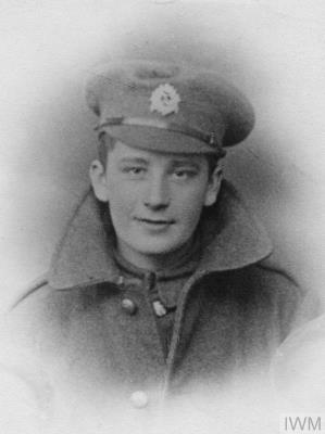 Victor William Hovell, 10th Battalion sherwood foresters, Notts and Derby.